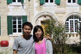 Leo and Jenny visit La Giraudière