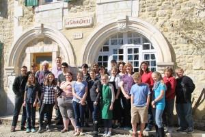 School trip abroad France