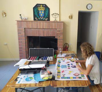 Italian volunteer in France