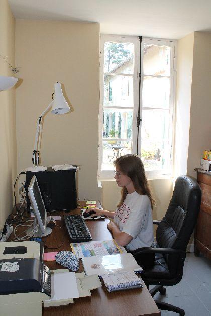 Polish intern in France