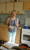 Adrienne english volunteering work in France