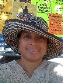 Lisa american volunteering in France