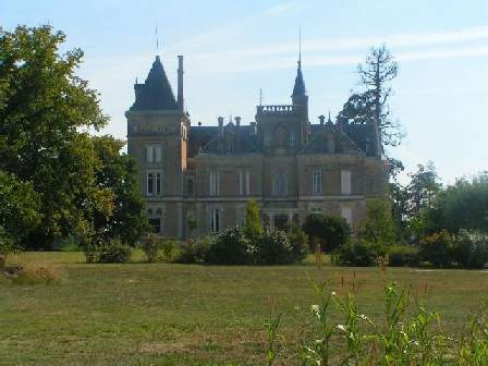 fRENCH chateau pASSIRAC