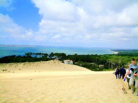 dune du pyla south west of France