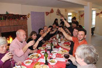 Christmas Volunteering Dinner