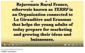 Erasmus volunteer project