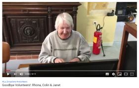 Volunteers testimonial video