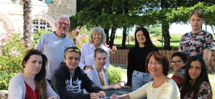 Erasmus volunteers service project in France